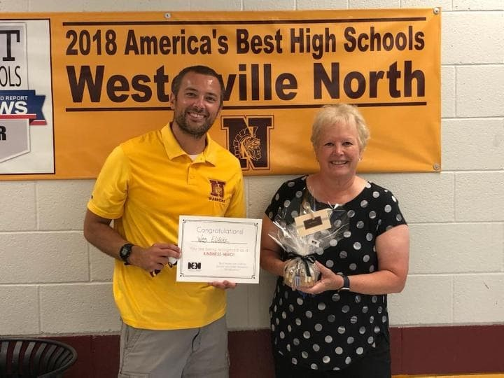 Westerville North Athletic Director recognized for developing new