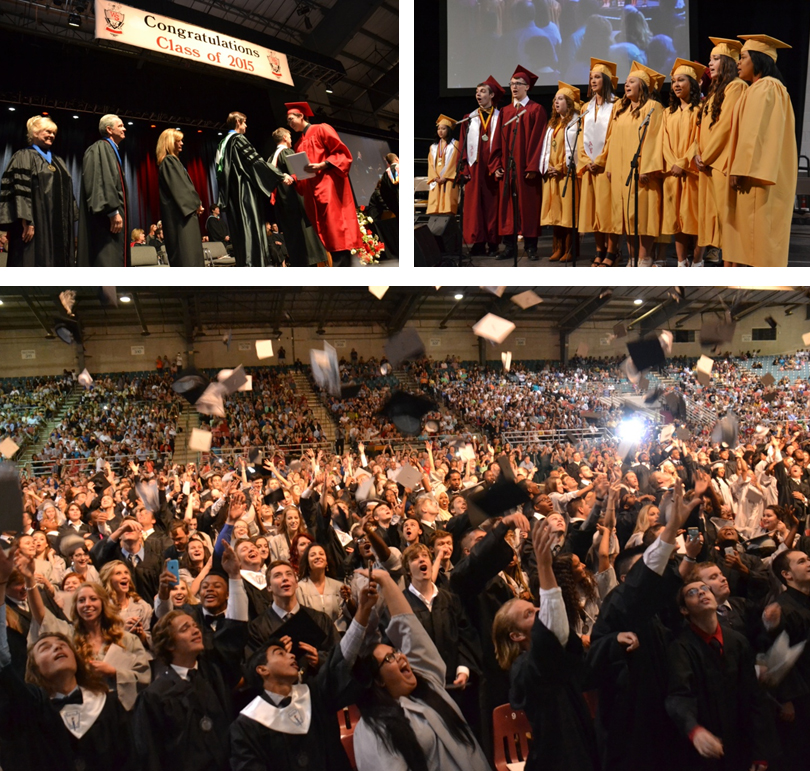 1,065 Graduates Celebrated at May 23 Commencement Ceremonies