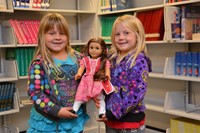 Club Donates American Girl Doll and Books to Hawthorne Elementary School
