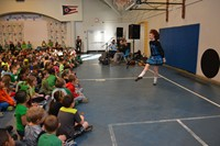 Hawthorne Students Enjoy Special St. Patrick's Day Performance