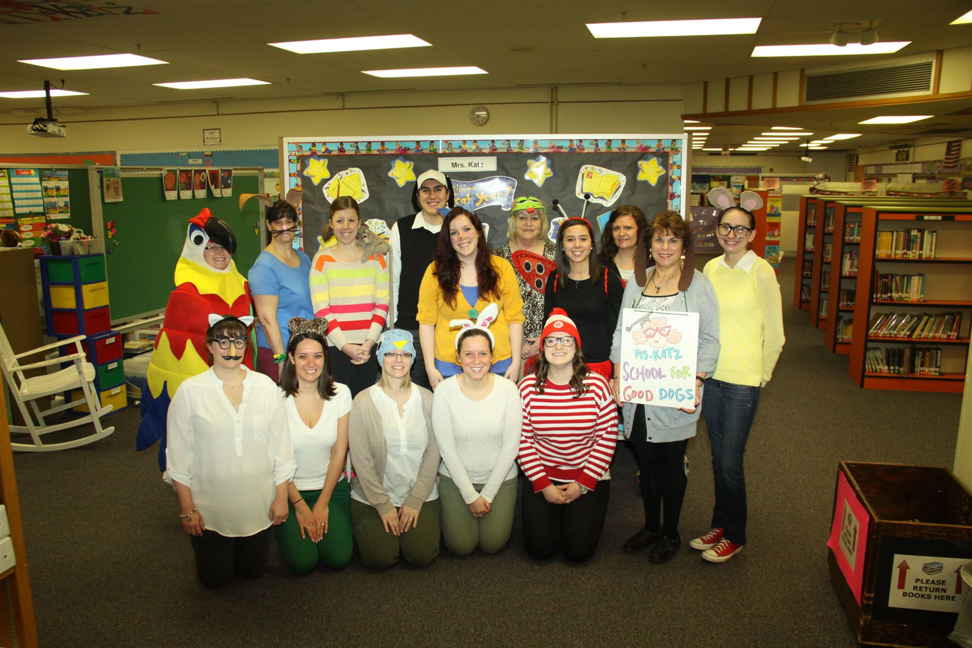 Pointview Educators are Wild about Reading