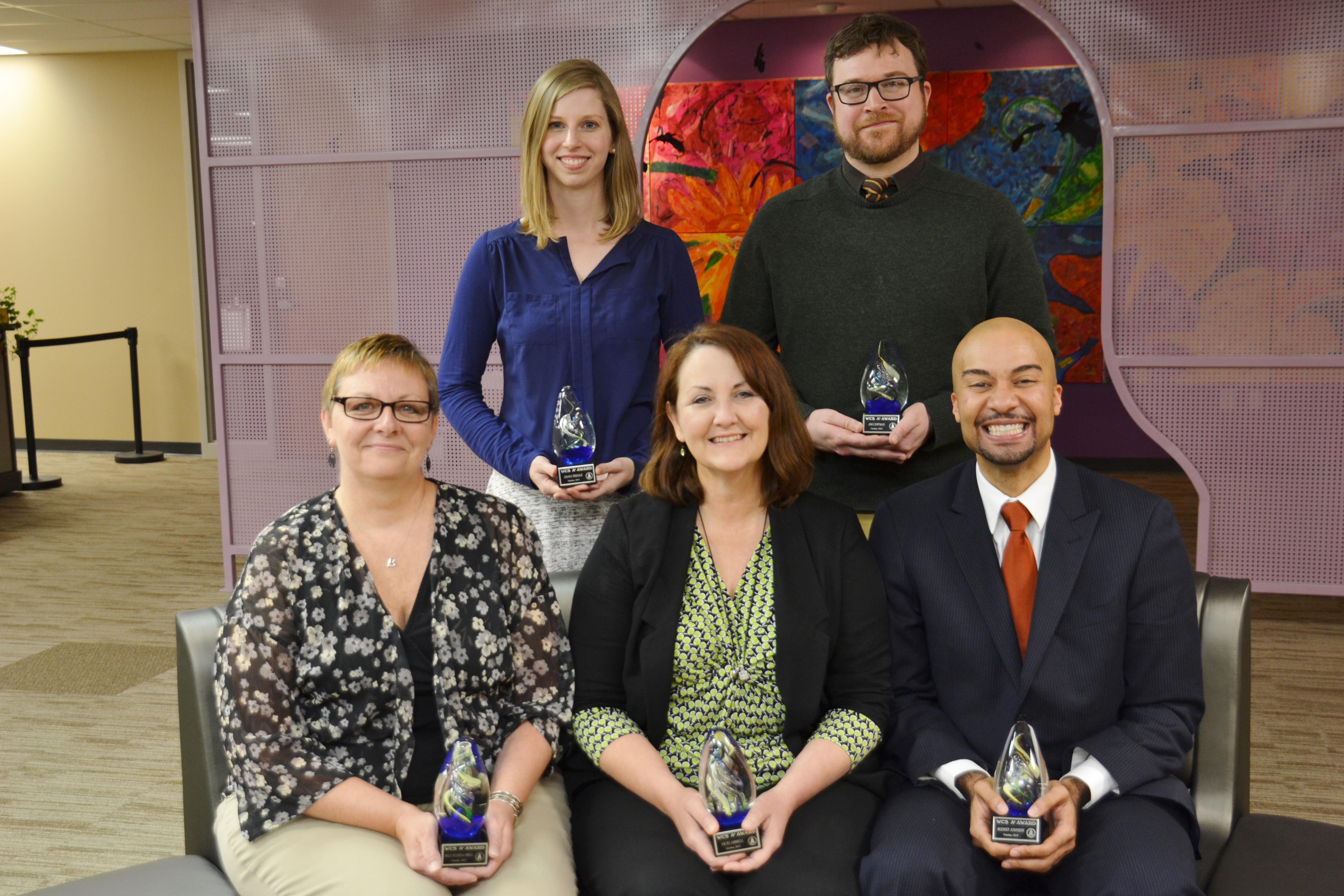 Five Westerville City Schools Employees Receive A+ Awards