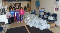 Hawthorne Students Collect Water for Residents of Flint, Michigan