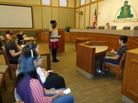 8th Grade Westerville Students Prepare for Regional Mock Trial Competition