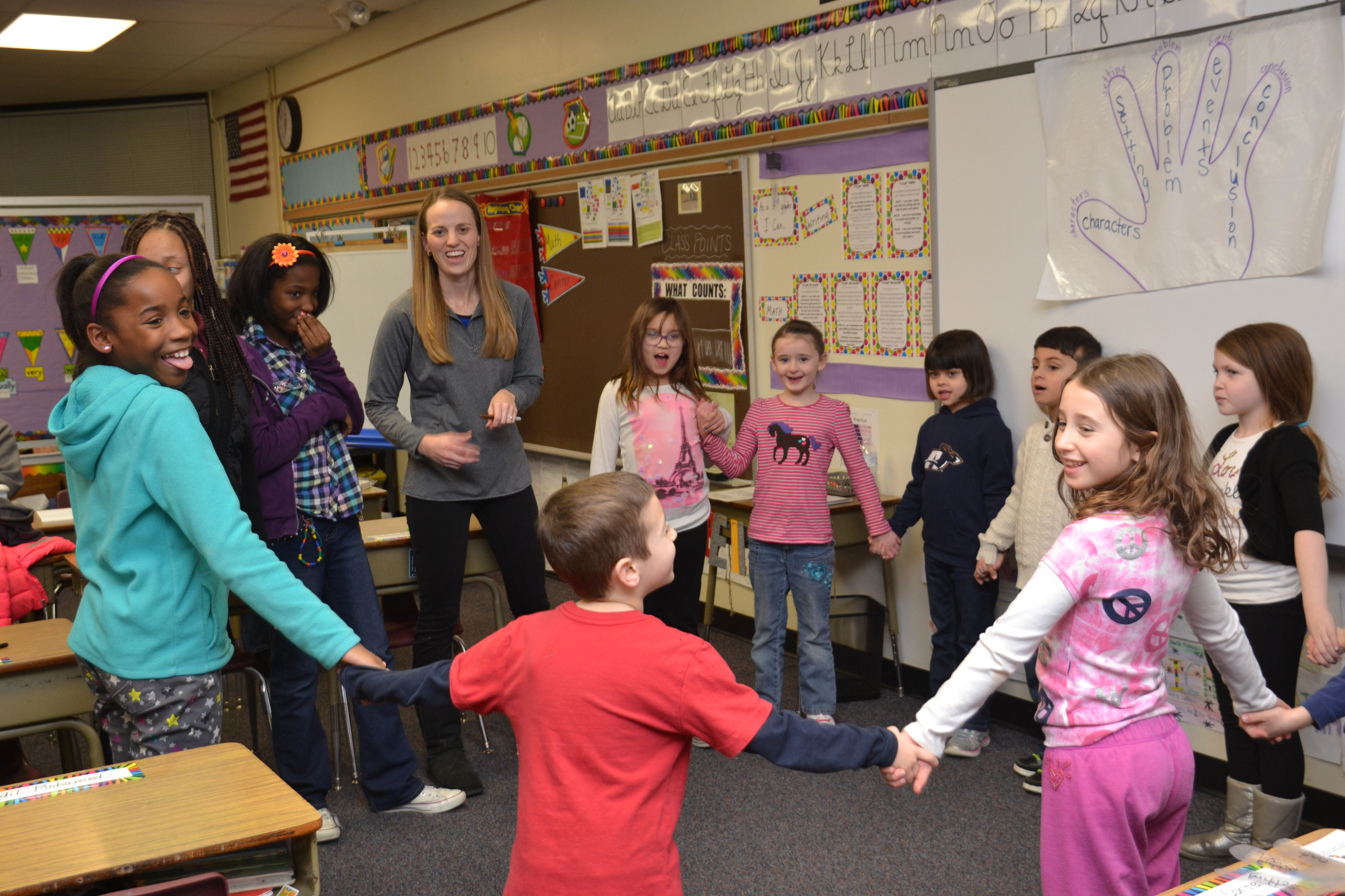 Pointview Family Engagement Night Draws Big Crowd