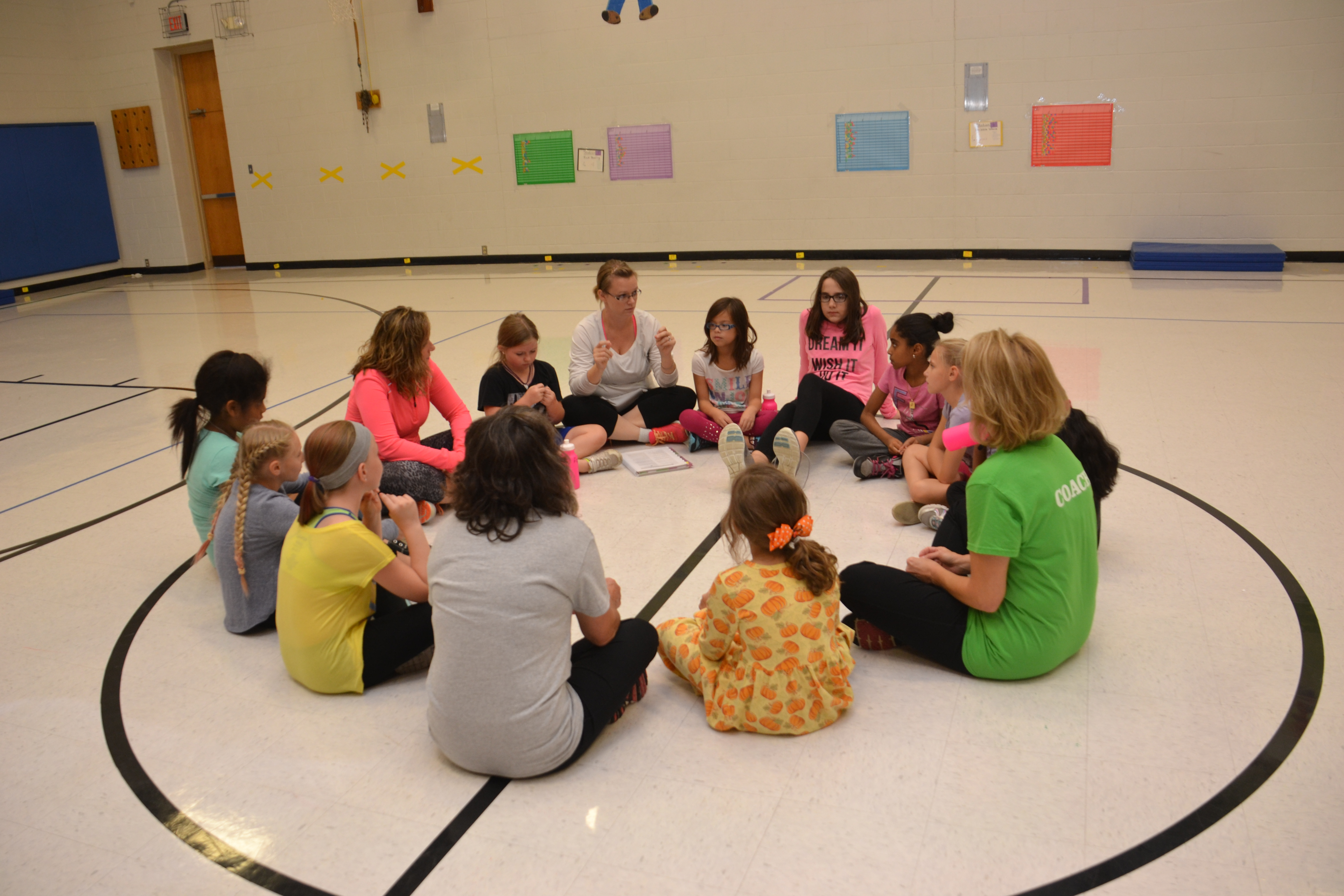 The Fall Season of Girls on the Run has Started at Pointview Elementary School