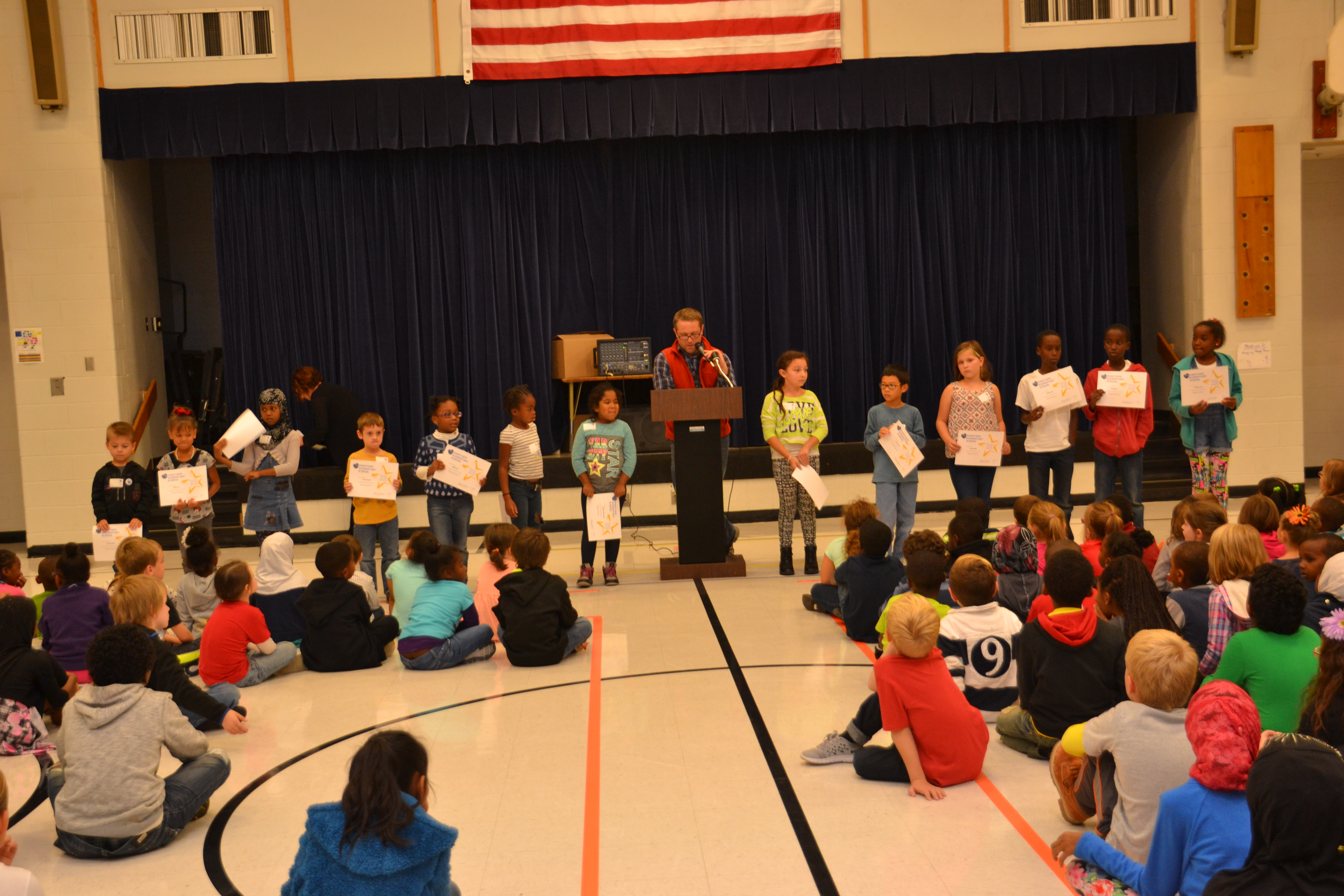 "Pointview Elementary Recognizes ""Proactive"" Students"