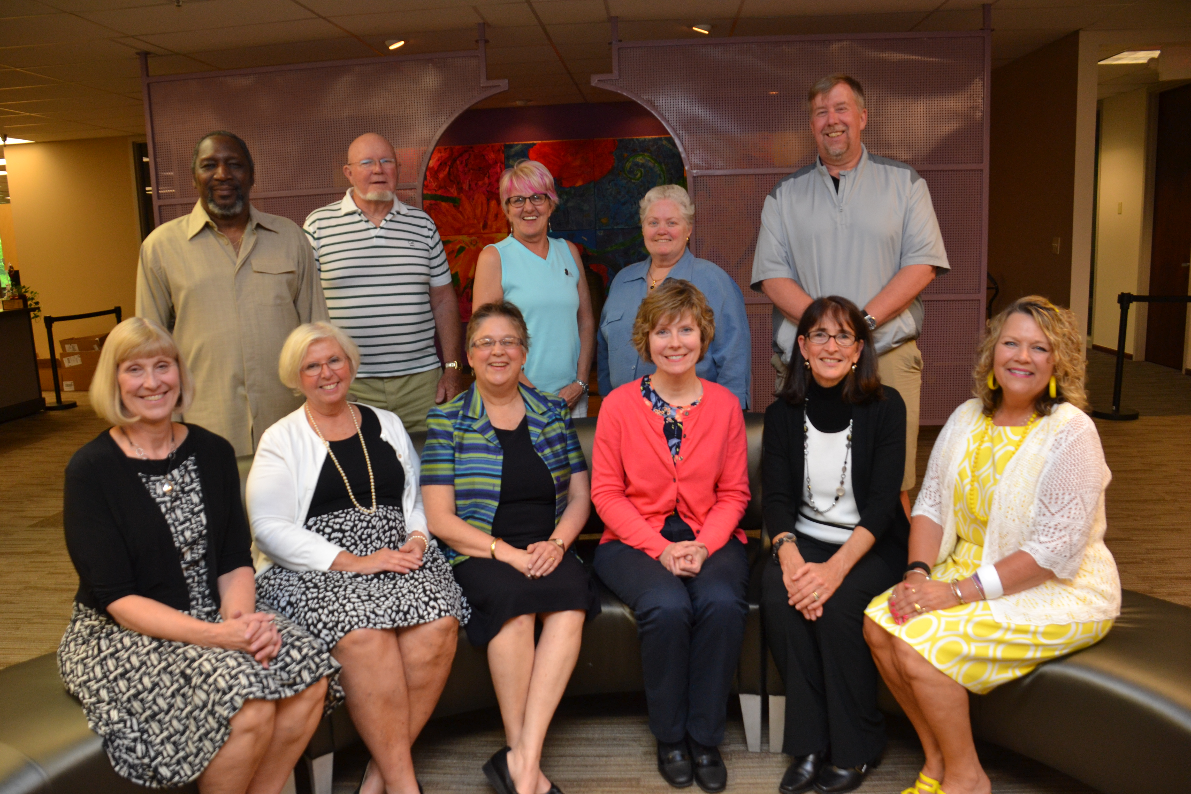 Retirees Honored at Board of Education Meeting