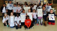 Walnut Springs Students Spread the Word to End the Word