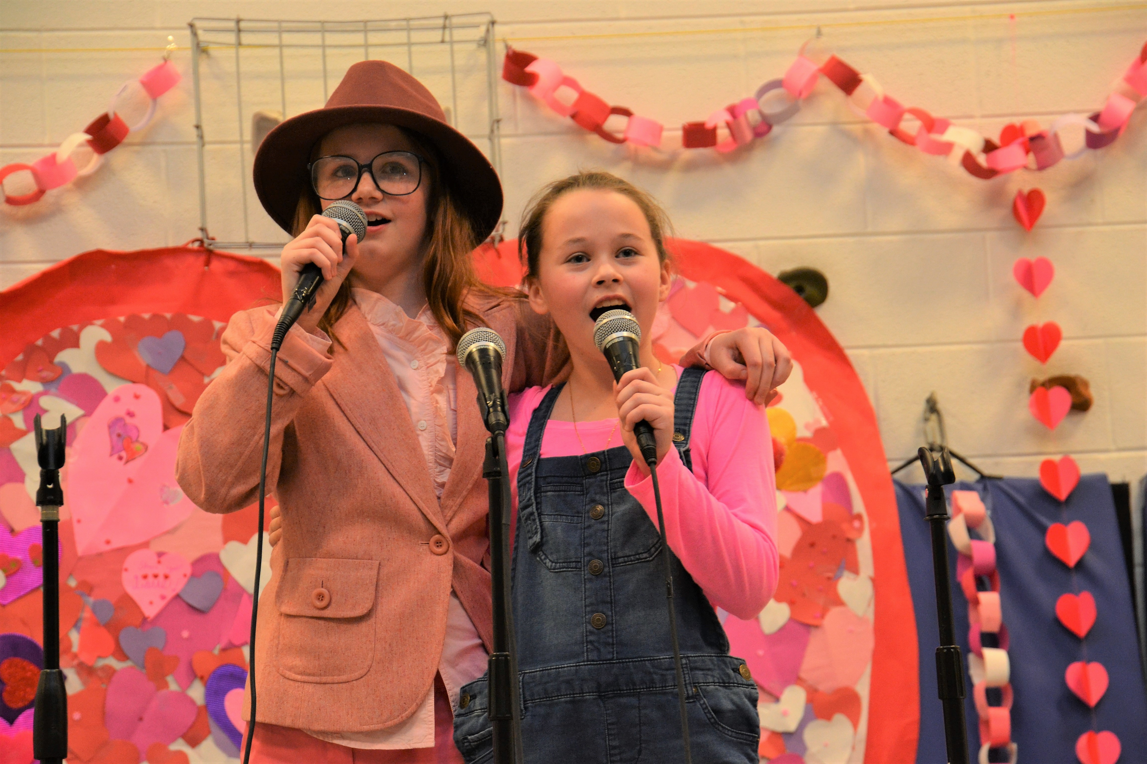 "Whittier students perform during the school's ""Share the Love"" coffee-house-style performances."