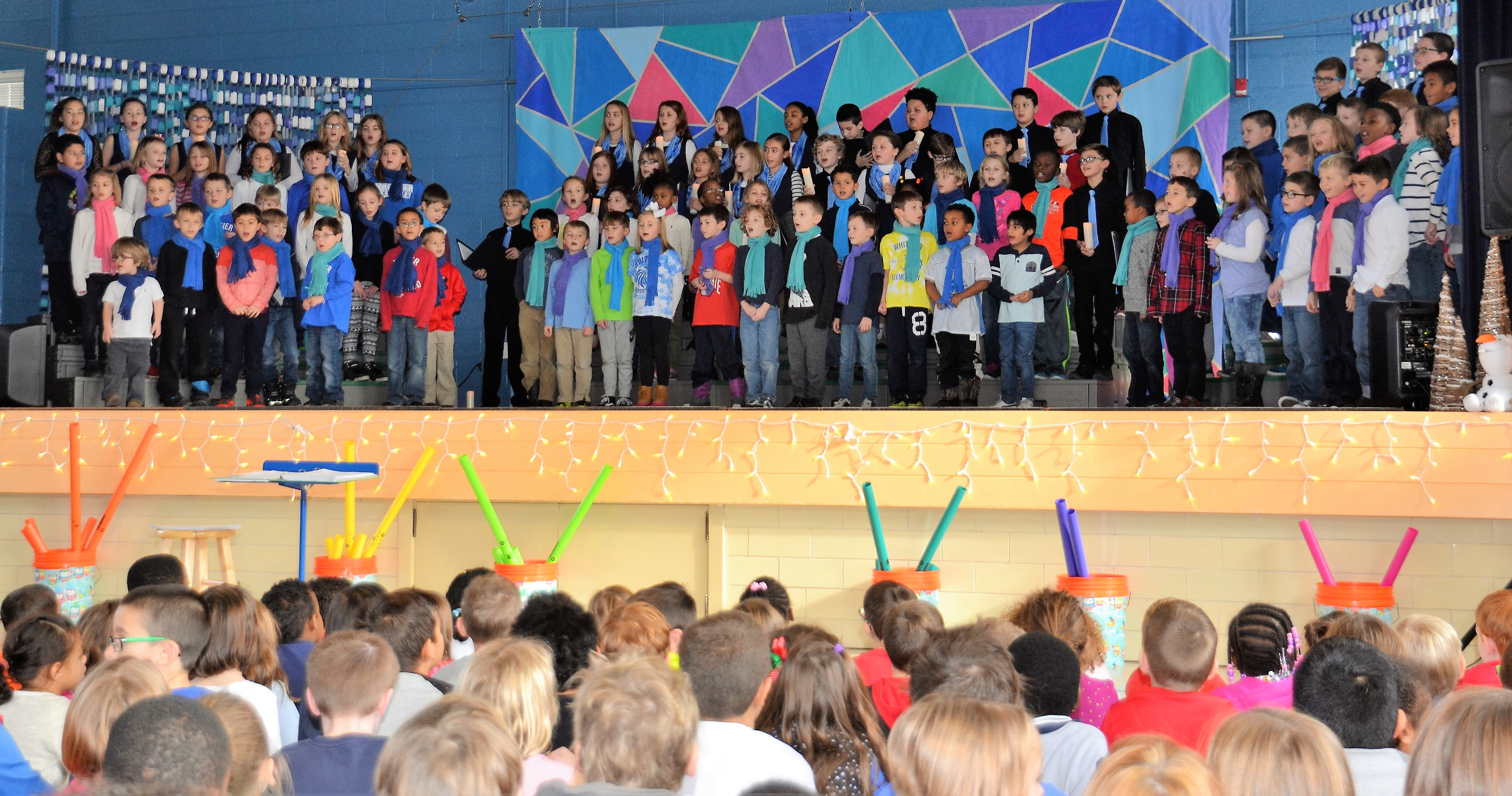 "Whittier students perform during the ""A Winter Spectacular"" concert"