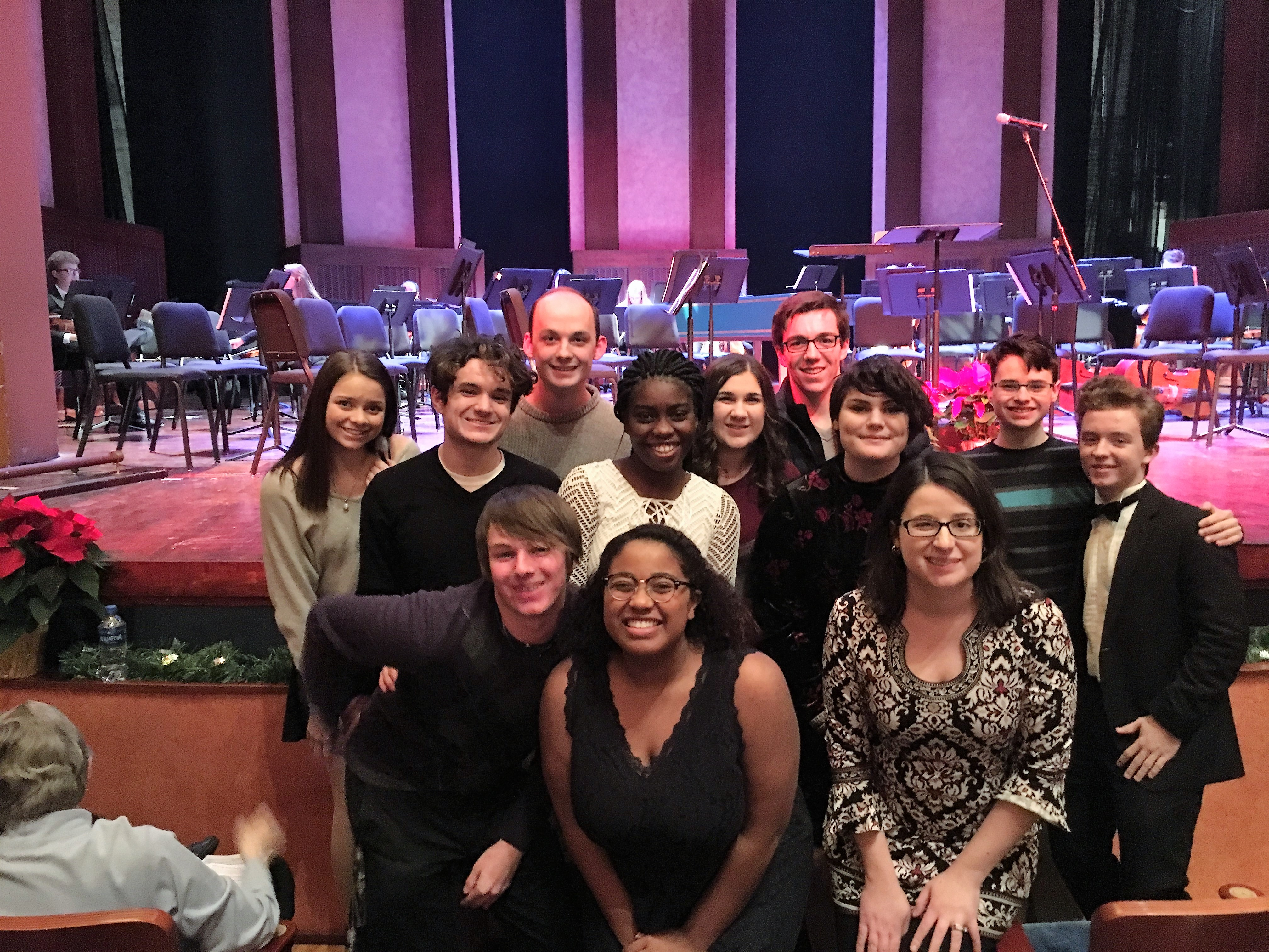 Westerville North students performed in the Pro Musica Chamber orchestra's annual Messiah Sing Along and Side-by-Side concert.