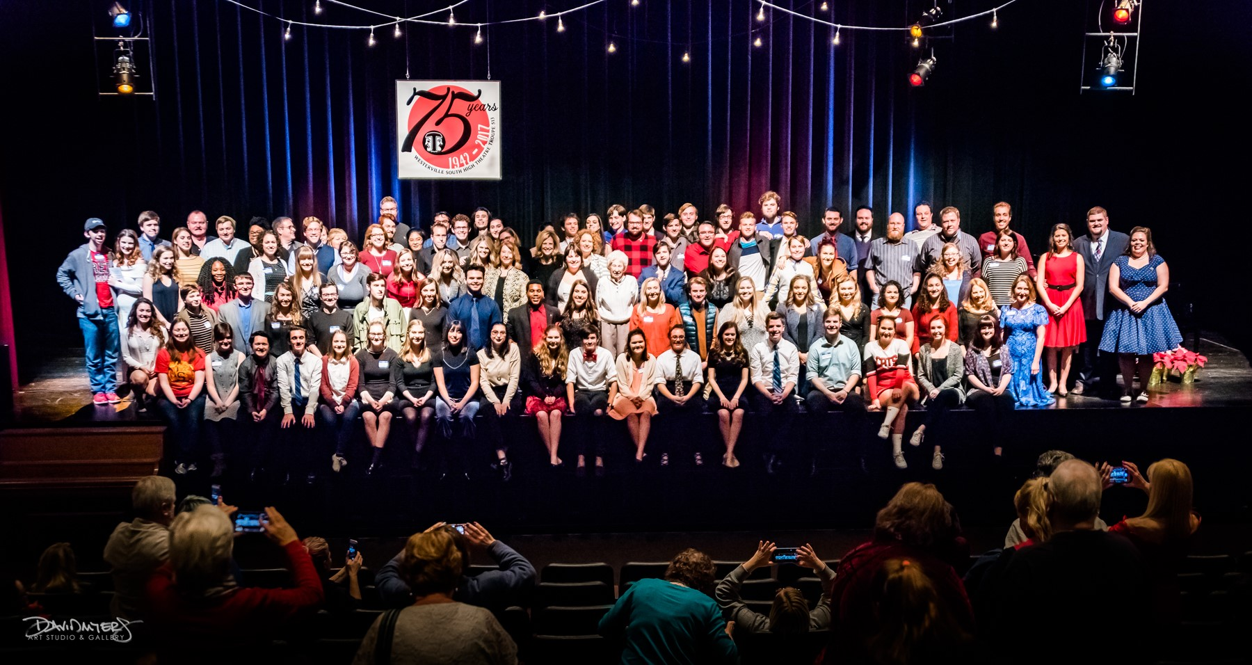 Westerville South Theater 75th Anniversary Photo