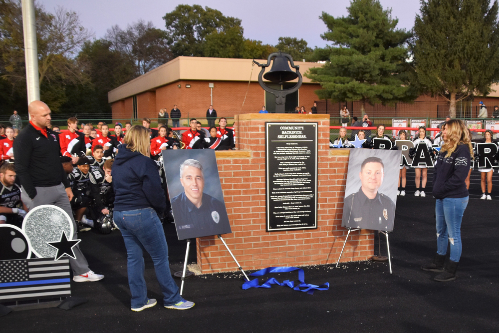 Fallen Police Officers Memorialized at Dedication