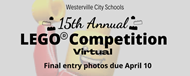 15th annual Lego Competition at Westerville City Schools