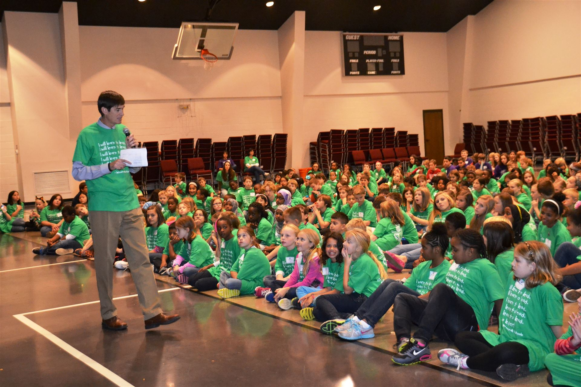 Superintendent addresses Elementary Leadership Summit participants