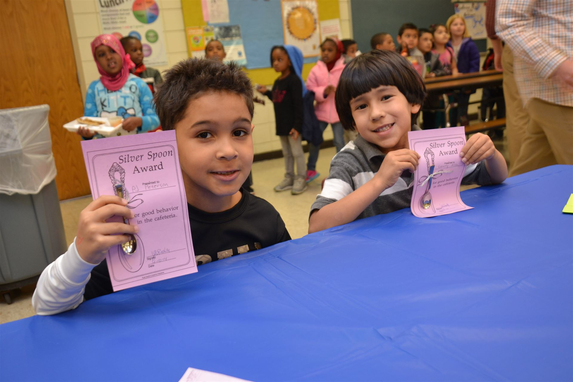 Students Rewarded for Positive Behavior at Pointview