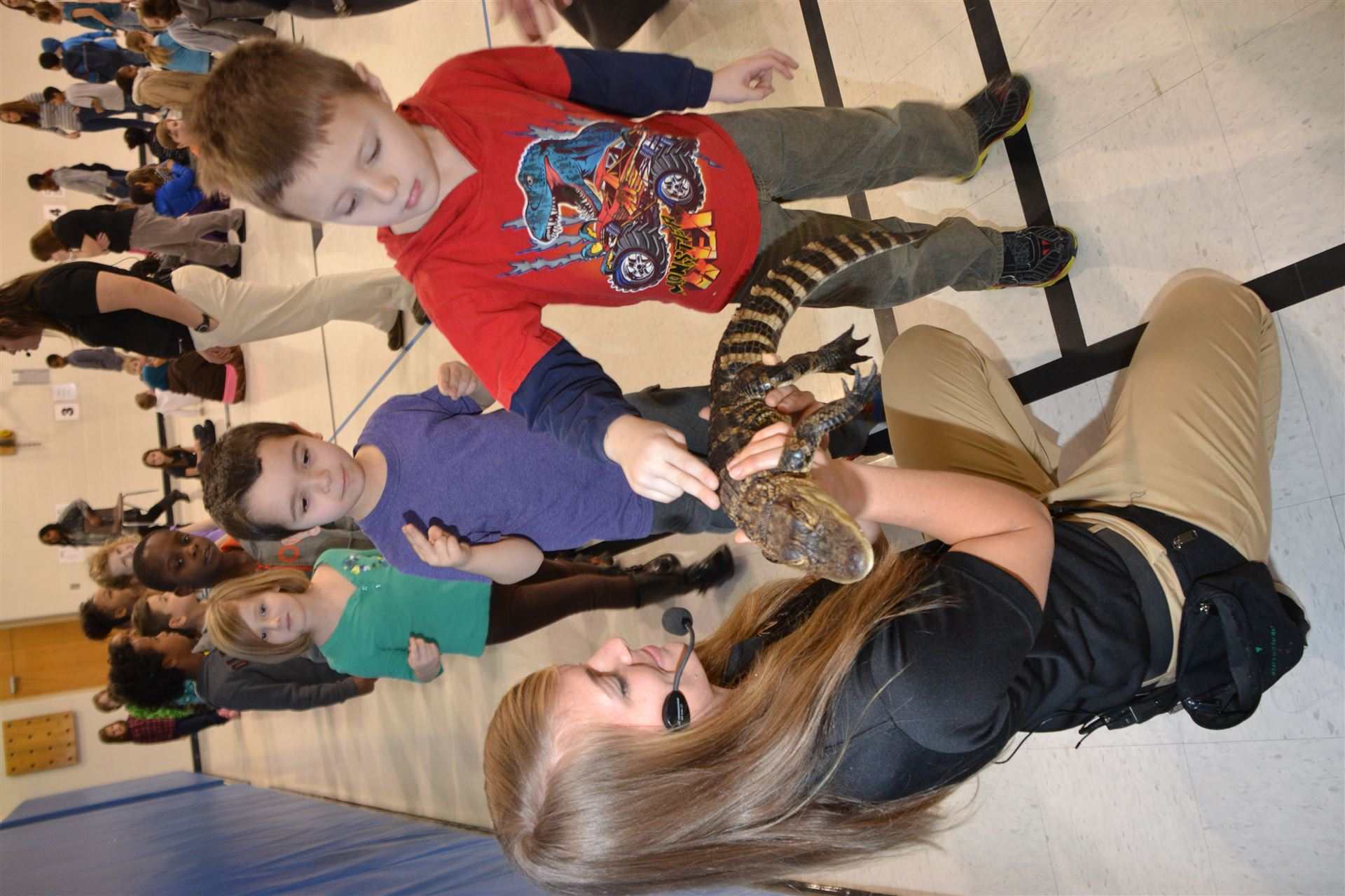 Columbus Zoo Brings Animals to Pointview Elementary School