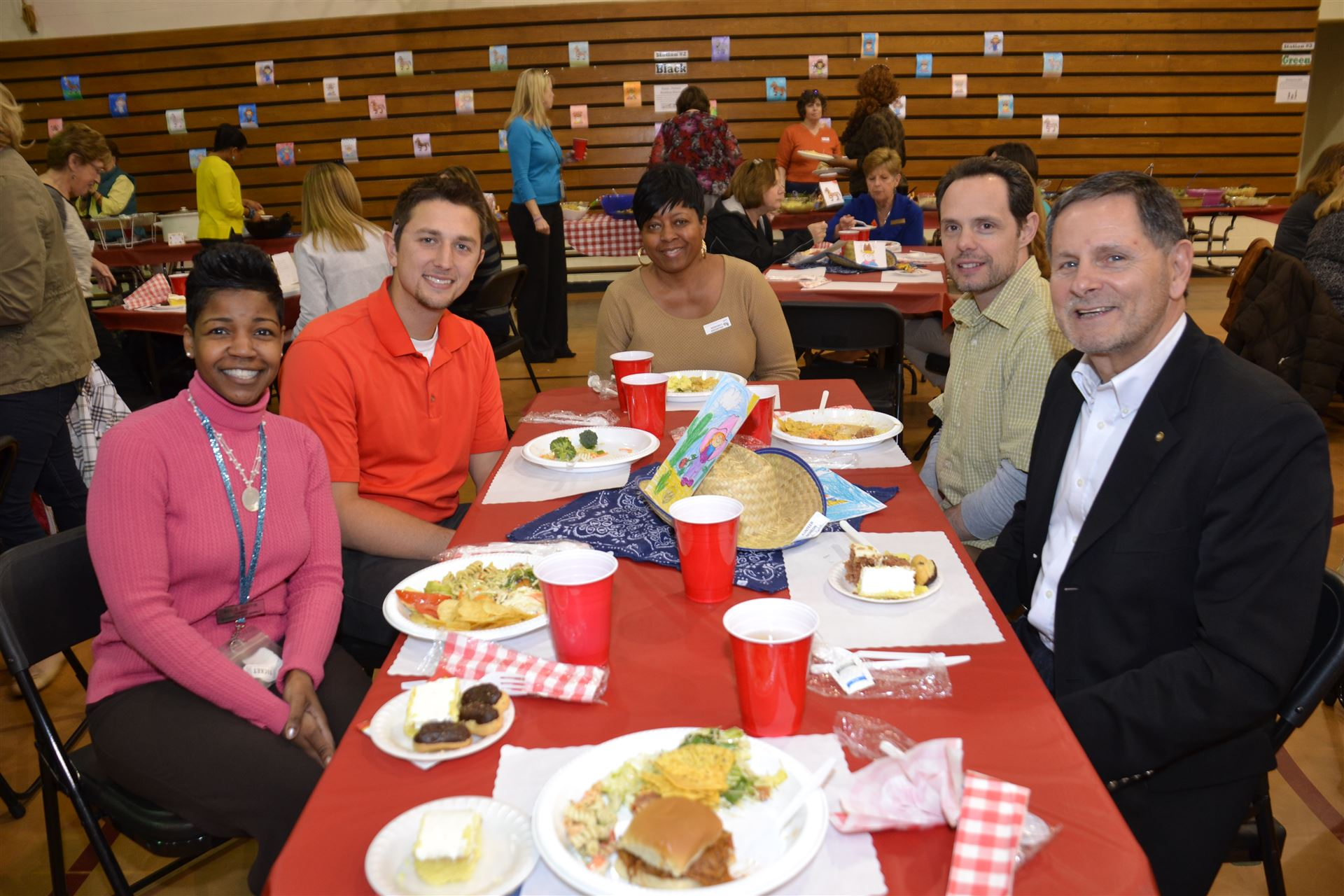 Robert Frost Elementary volunteer luncheon