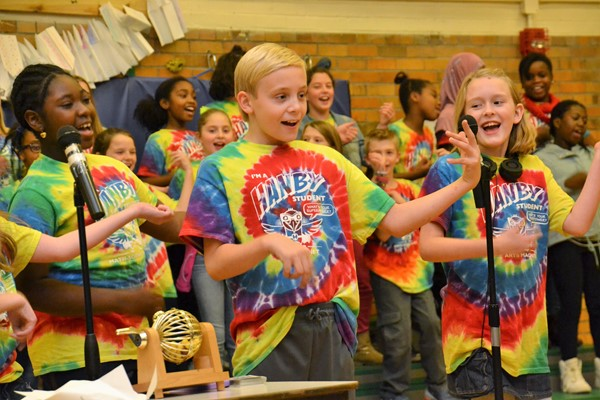 Hanby students performed in the musical, A Kid's Life.