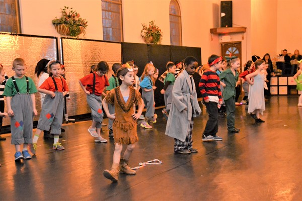 Hanby students danced at the Generations Studio.