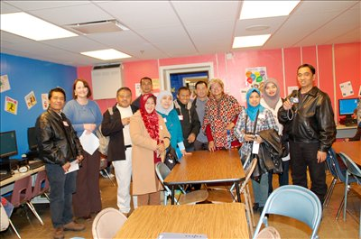 Emerson World Languages & Cultures Magnet School entertained a number of Indonesian guests on Monday, December 7.