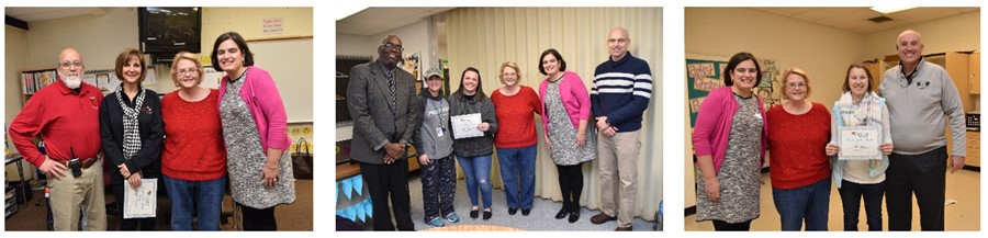 Westerville Education Foundation Teachers of the Month for December