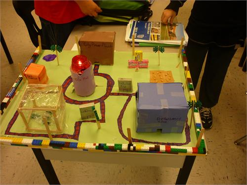 Cell City School Project Ideas Download · Cell City Projects