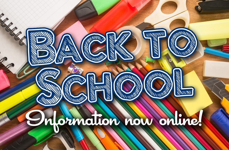 Back-to-school information