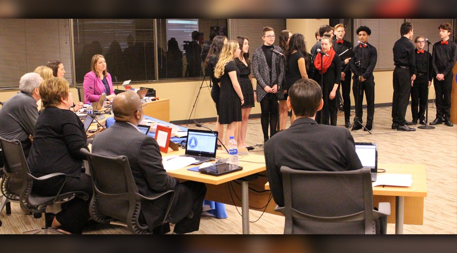 Board Recognition Singing