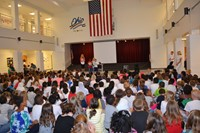 Wilder Elementary Students Celebrate International Peace Day