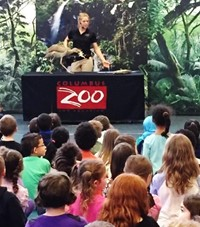 Wilder Students and Teachers are Wild about Visit from Columbus Zoo Animals