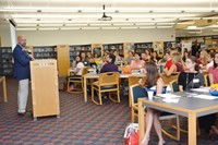 New Teachers Learn About Westerville Schools at Orientation Meeting