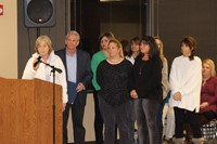 Challenge Day organizer and colleagues, addressed the Board and Superintendent