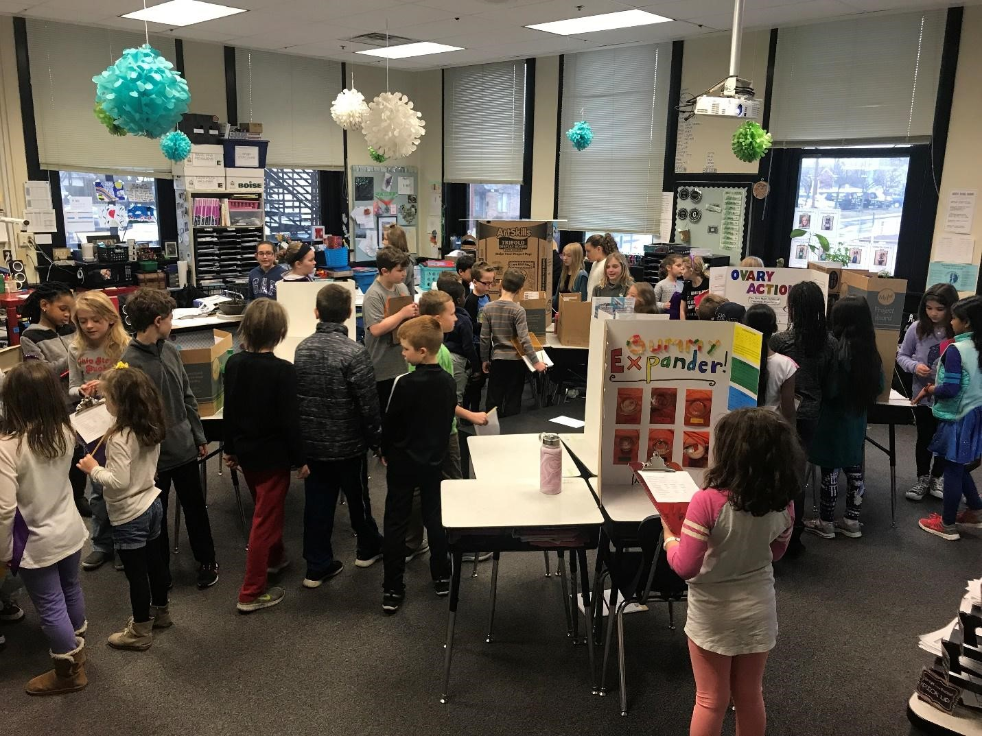 Emerson students view projects