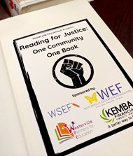 Reading for Justice: One community One Book sponsors