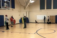 Elementary PE teachers collaborate