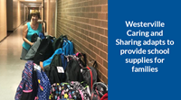 Westerville Caring and Sharing adapts to provide school supplies for families