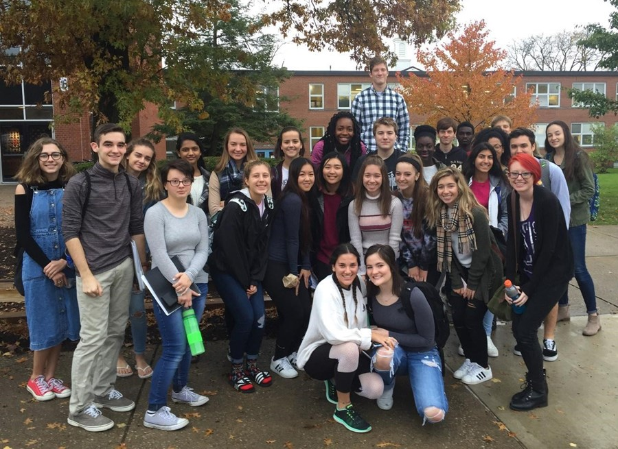 Central Ap Biology And Medical Interventions Students Attend Genetic