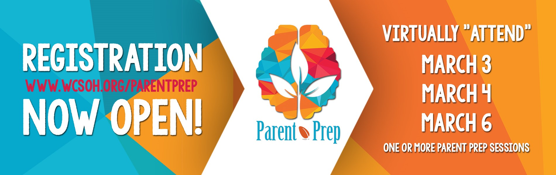Parent Prep March Registration
